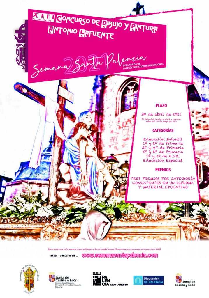Concurso Dibujo Semana Santa Palencia2021